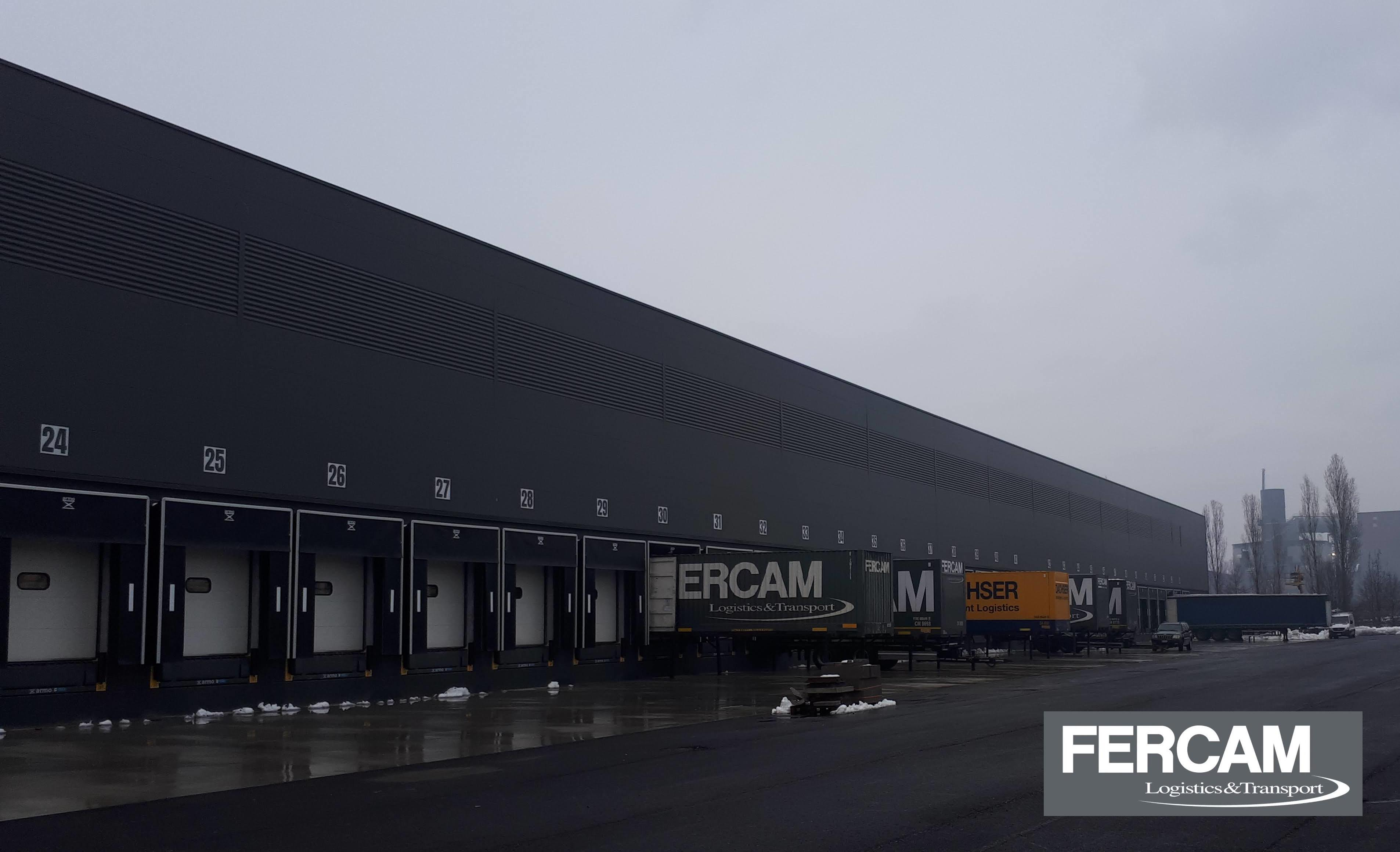 FASE 4: si conclude la realizzazione della nuova sede logistica di Altavilla (VI) di Fercam