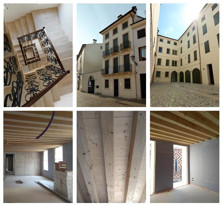 """Completato il restauro del Palazzo """"Ex Posta Cavalli"""" in Corso Fogazzaro 185 a Vicenza"""